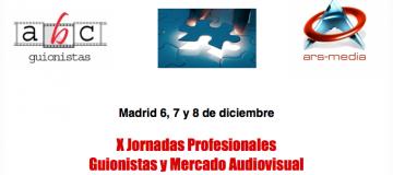 X Jornadas Profesionales Guionistas y Mercado Audiovisual