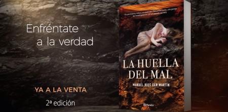 2ª EDICIÓN DE LA HUELLA DEL MAL DE MANUEL RÍOS SAN MARTÍN