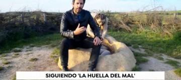 Manuel Ríos, autor de la novela 'La Huella del Mal' en el informativo de Antena 3: