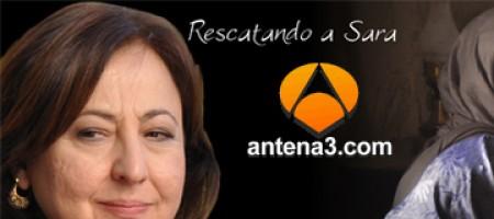ANTENA 3 ya tiene página web de Rescatando a Sara